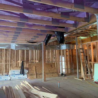 Construction Bistro intérieur